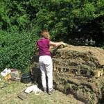 Stacking the habitat pile